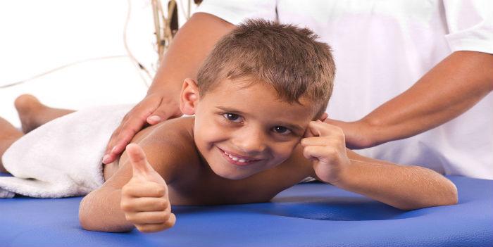 Детский массаж (от 3-ёх лет)